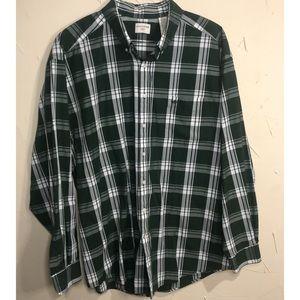 Mens Dockers Button Down Shirt Size XLT
